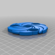 417c6230e7f4c0bf9a87f2c8ca762665.png Download free STL file whirlpool spinner • 3D printer template, hitchabout