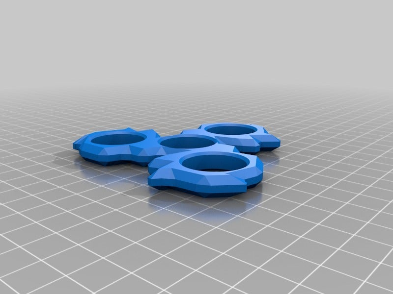 7840a4d263a6f0f1138776493a7f2b3a.png Download free STL file nICE fidget spinner • 3D printing object, hitchabout