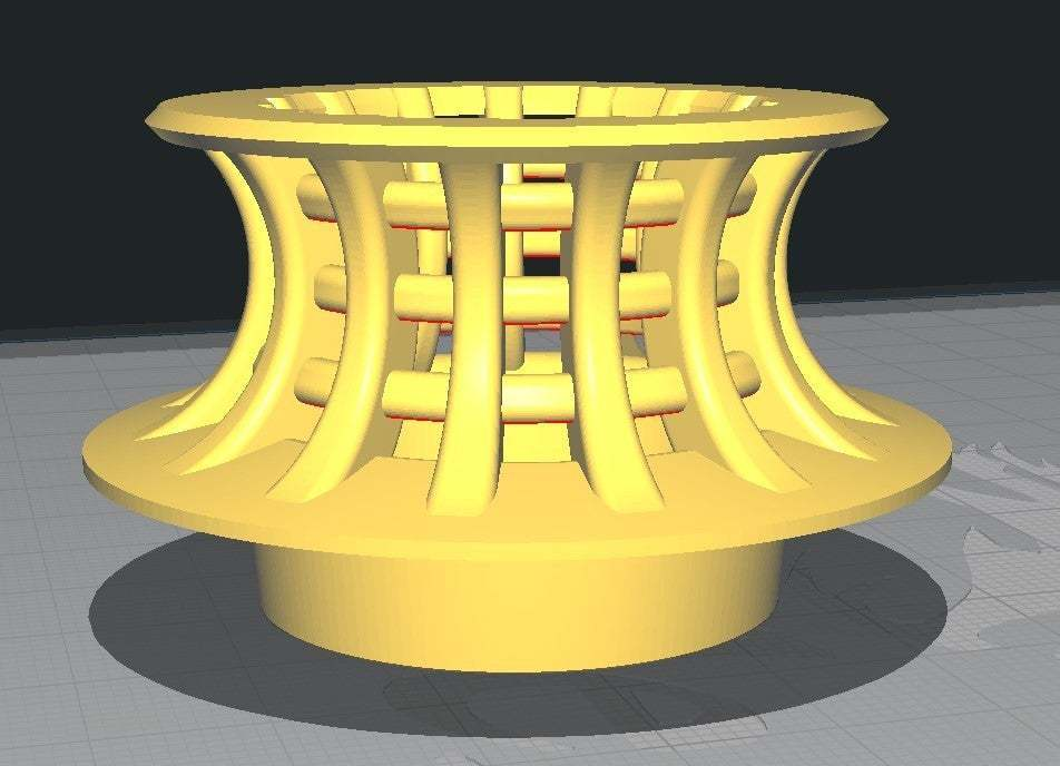 Annotation_2020-01-10_215650.jpg Télécharger fichier STL gratuit Capteur de cheveux pour bac de 36 mm ou 1 1/4 • Design imprimable en 3D, hitchabout