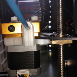 Download free 3D printer templates Creality extruder relocating bracket (repaired), hitchabout