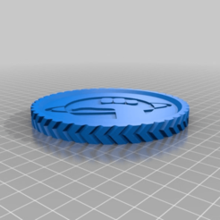 Download free 3D printing files DON'T PANIC it's only another coin i'm afraid, hitchabout