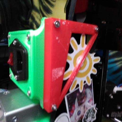 Télécharger fichier STL gratuit support powerbox pour anet a6 • Plan pour impression 3D, hitchabout
