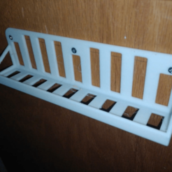 Download free 3D printing models phone shelf, hitchabout