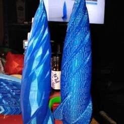 Télécharger plan imprimante 3D gatuit fusée torsadée partie 2, hitchabout