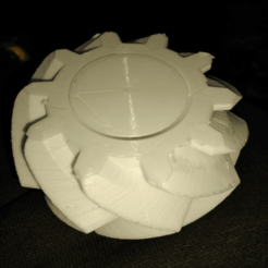 Download free STL file fat tire or gear spinner • 3D printer design, hitchabout