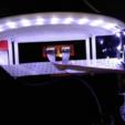 Télécharger fichier STL gratuit Capot à double bande lumineuse LED Anet A6 • Plan imprimable en 3D, hitchabout