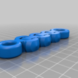 bbc34bc44f11ffba566ef81123d107b0.png Download free STL file HeavyDuty Flexible KeyFob and Bracelet • 3D print object, hitchabout
