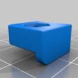 Télécharger fichier STL gratuit anet A6 porte-écrou de lit • Objet pour imprimante 3D, hitchabout