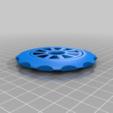 Download free 3D printing models sprocket spinner, hitchabout