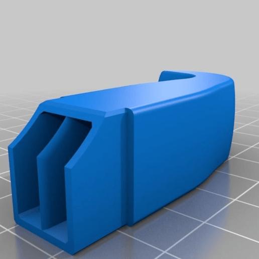 92643708f14567643985ca6138b6738a.png Télécharger fichier STL gratuit conduit à double canon • Modèle à imprimer en 3D, hitchabout