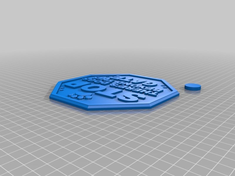 1fb10af8e189397ecd0e7b11046180e3.png Download free STL file stop dogs sign • 3D print model, hitchabout