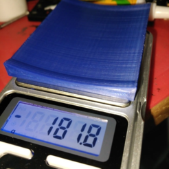Download free STL antirolling spool pocket scale thingy, hitchabout