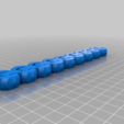 eee6c9765f378d9771d6fb1f57dff3c4.png Download free STL file HeavyDuty Flexible KeyFob and Bracelet • 3D print object, hitchabout