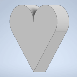 Download free 3D printing templates Heart, CTorres
