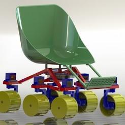 rocker_bogie_wheelchair(4).JPG Download free STL file Rocker Bogie Wheelchair Prototype • 3D printable object, luismallmann