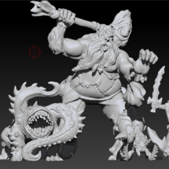 1.PNG Download STL file Crown of Destiny Monsters • 3D print design, oraculo3d