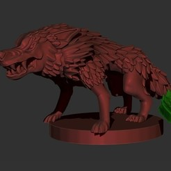 Tokens.jpg Download STL file Descent Familiar Lobo Labirinto de Ruinas(Wolf/ Labirynt of Ruin) • 3D printer design, oraculo3d