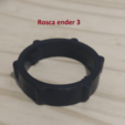 Download free 3D print files Creality ender 3 filament reel holder - DIAMETER 73mm or more with bearing, martinmarolt17