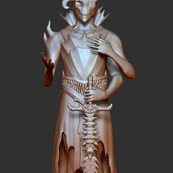 Download STL Demon-necromancer, Strygun