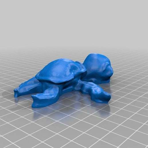 Download free 3D printing files Turtle - 123Dcatch, maxxi999cults3d