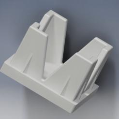 Eindstuk_hondenbak.png Télécharger fichier STL gratuit Embout de tube carré 22mm • Design à imprimer en 3D, maxxi999cults3d