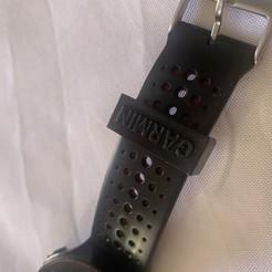Télécharger STL gratuit retenue de bracelet montre Garmin Forerrunner, juliengigan
