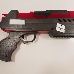 20200331_194407.jpg Télécharger fichier STL Harley Quinn gun • Plan imprimable en 3D, homeprinter