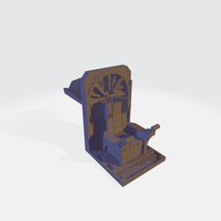 Imperial Knight Throne Mechanicum.png Download STL file Imperial Knight Seat • 3D printable template, DrFishman