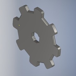 Download free OBJ file Mechanic Gear,Gearwheel,Mechanic Part • 3D printing model, serdarhamzabayrak