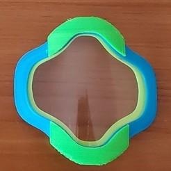 XHoundstooth.jpg Download STL file Visor for lip reading (Houndstooth) • 3D print design, yvesroc95