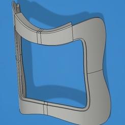 XTikiSmile.jpg Download STL file Visor for lip reading (Tiki) • 3D printable model, yvesroc95
