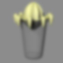 citrus.stl Download free STL file citrus juicer press - lemon juicer press - orange juicer • Object to 3D print, kakiemon