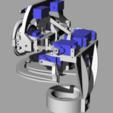 ScreenShot_351_Rhino_Viewport.png Télécharger fichier STL gratuit Mécanique de la bouche et du sourcil, adaptable à la mécanique de l'œil • Modèle pour impression 3D, kakiemon