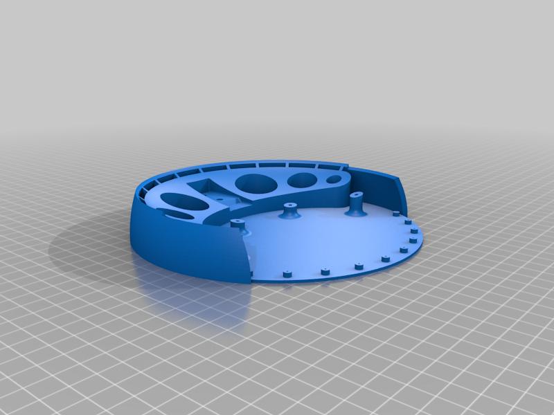 stand.png Télécharger fichier OBJ gratuit Conception d'une échelle de cuisine • Design à imprimer en 3D, kakiemon
