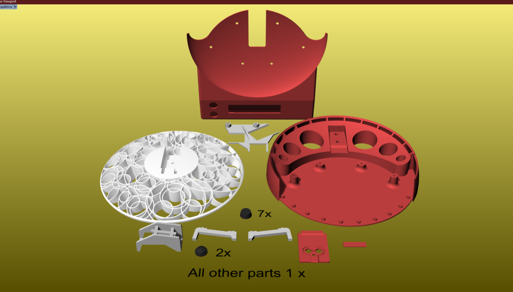 Number_of_parts.png Télécharger fichier OBJ gratuit Conception d'une échelle de cuisine • Design à imprimer en 3D, kakiemon