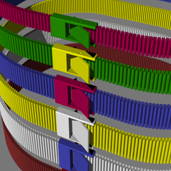 belt_var2.png Download free STL file Stretch belt, wearable belt, waist belt • 3D printing object, kakiemon