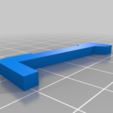 display_support_left.png Télécharger fichier OBJ gratuit Conception d'une échelle de cuisine • Design à imprimer en 3D, kakiemon