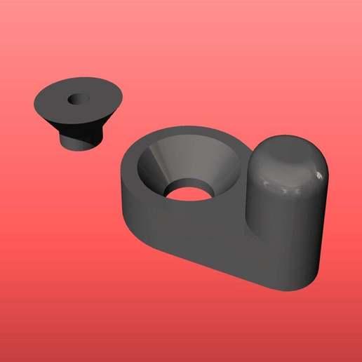 latch.jpg Télécharger fichier STL gratuit loquet de rotation • Modèle à imprimer en 3D, kakiemon