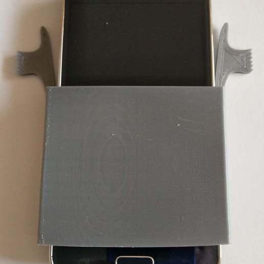Télécharger fichier STL gratuit Protection des poches de chemise contre les chutes de téléphone • Modèle imprimable en 3D, kakiemon