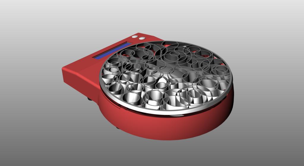 from_rear_right_.png Télécharger fichier OBJ gratuit Conception d'une échelle de cuisine • Design à imprimer en 3D, kakiemon