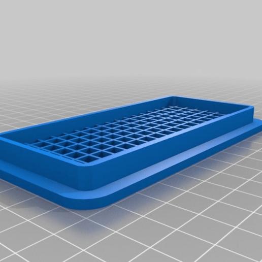 6b190fccb13d3c5e8e1f865897c115e7.png Télécharger fichier SCAD gratuit Grille de ventilation personnalisable • Design à imprimer en 3D, kakiemon