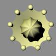 zitruspresse4_top.png Download free STL file citrus juicer press - lemon juicer press - orange juicer • Object to 3D print, kakiemon