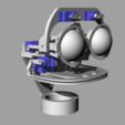 ScreenShot_354_Rhino_Viewport.png Télécharger fichier STL gratuit Mécanique de la bouche et du sourcil, adaptable à la mécanique de l'œil • Modèle pour impression 3D, kakiemon