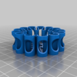 730e22801501b0421ecdb1d6247445ef.png Download free STL file Earbud spool with cable fixing feature • 3D printing template, kakiemon
