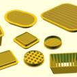 Ventilation_grids.png Télécharger fichier SCAD gratuit Grille de ventilation personnalisable • Design à imprimer en 3D, kakiemon