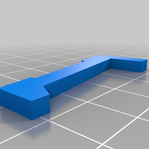 display_support_right.png Télécharger fichier OBJ gratuit Conception d'une échelle de cuisine • Design à imprimer en 3D, kakiemon