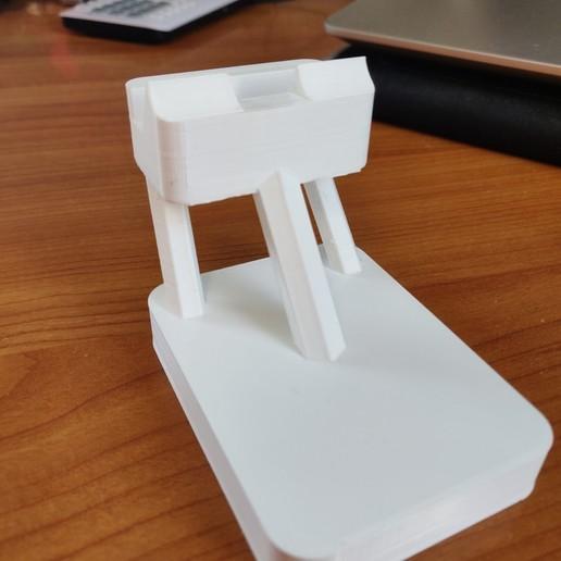 Télécharger fichier imprimante 3D gratuit Support Telephone pour MAMAN, Ultime2202