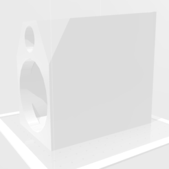 Front.png Download free STL file LM 3 Inch - 2 Way Bookshelf Speaker • Template to 3D print, mendoza4000