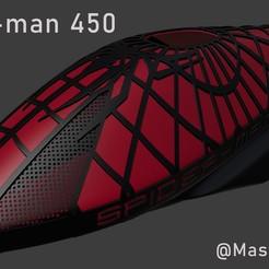 Spiderman.jpg Download STL file Spider-Man RC helicopter Fuselages (TRex450) • 3D print model, MasterCraft