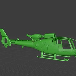 gazelle.jpg Download STL file SA341 Gazelle helicopter (TRex450) • 3D printer object, MasterCraft